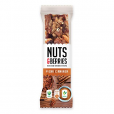 Barrita Nueces y Canela NUTS&BERRIES 30gr