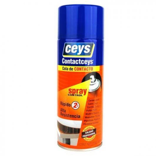 Cola de contacto en spray 400 ml Ceys