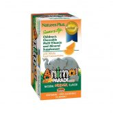 Animal Parade Multiv Naranja 60 comprimidos masticables Natures Plus