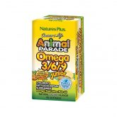 Animal Parade Omega 3-6-9 Junior 90 Perlas Natures Plus