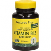 Vitamina B12 1000 Mcg 90 comprimidos Natures Plus