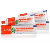 Pack 2x Pasta dentífrica Power Smile blanqueadora Jason, 170 g