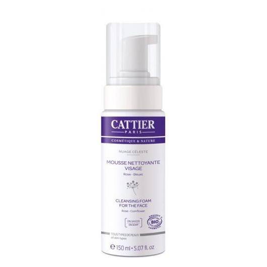 Mousse nettoyante visage Cattier, 150 ml