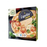 Base fina de pizza de espelta integral Sol Natural 2x150 g