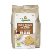 Crackers Integral con Sésamo bio Vegetalia 150 g