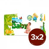 PACK 3X2 Pañales BIO BABY T2 (5-8kg) 120 unidades