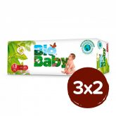 PACK 3X2 Pañales BIO BABY T3 (7-10kg) 102 unidades