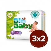 PACK 3X2 Pañales BIO BABY T5 (12-16kg) 93 unidades