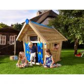 Casita de madera infantil – Crazy Playhouse