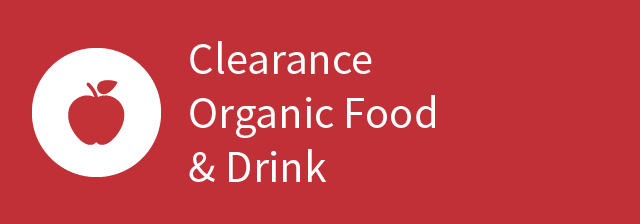 Clearance Organic Food & Drink